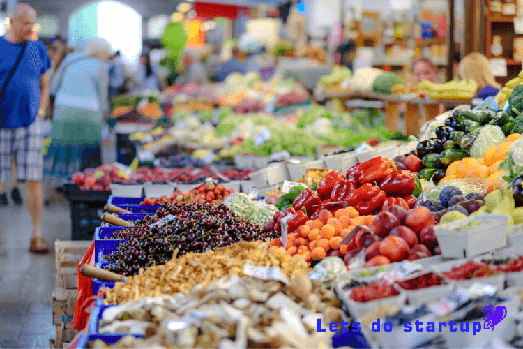 Fruits and vegetable Store