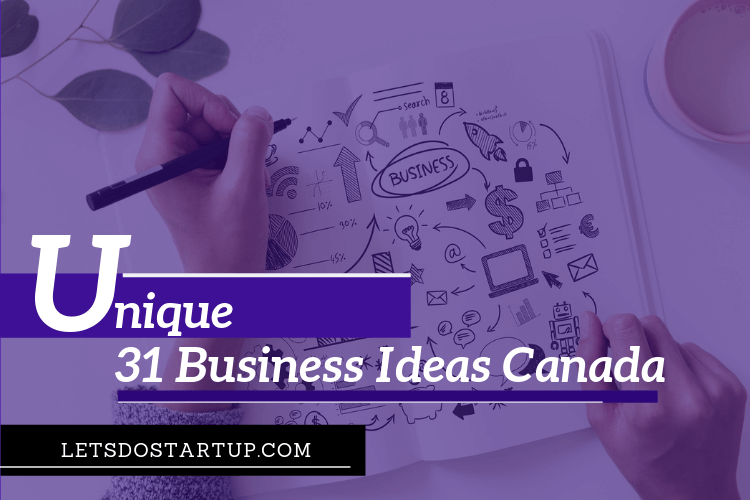 Unique Small Business Ideas Canada